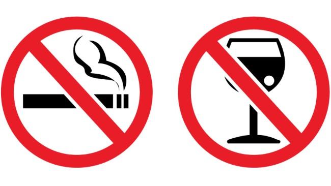Алкоголь и курение при псориазе