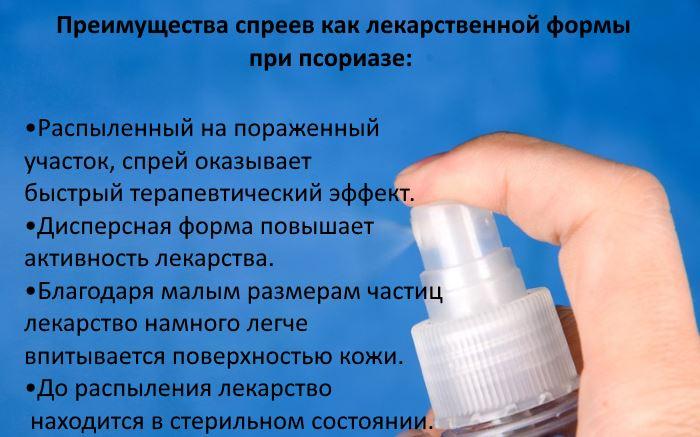 Цинокап спрей отзывы при псориазе
